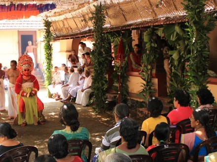theyyam festival package kasaragod